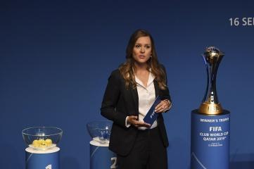 Thayssa Plum, recipient of the Future Female Leader in Sport Scholarship