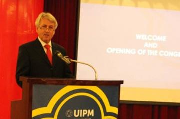 UIPM president Dr Klaus Schormann (photo: UIPM)
