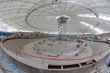 The velodrome for the Pan American and Parapan American Games (Photo: CSM Live)