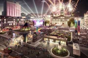 A cultural festival will take place centred around Glasgow's George Square