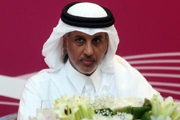 Sheikh Hamad bin Khalifa bin Ahmad Al Thani, president of the Qatar Football Association