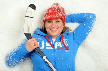 Four-time Olympic medallist Angela Ruggiero is IOC Member, USOC Board of Directors member, IOC Athletes' Commission Representative on the WADA Foundation Board (Photo: www.angelaruggiero.com)