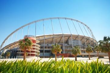 An upper tier is being added to the Aspire Zone's Khalifa stadium