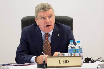 President Thomas Bach at the IOC Executive Board meeting in Rio de Janeiro in February 2015 (Photo: IOC)