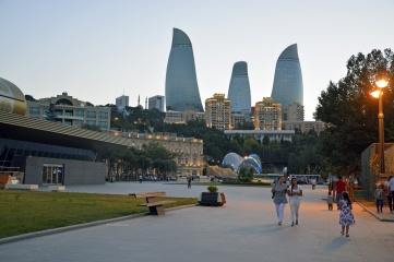 Baku is hosting the first ever European Games in 2015 (Photo: Svetlana Jafarova, Shutterstock)