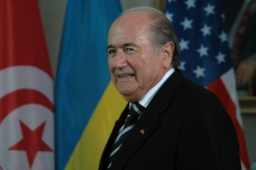 Sepp Blatter pictured in Berlin in 2006. Since then, the World Cup has been awarded to South Africa, Russia and Qatar