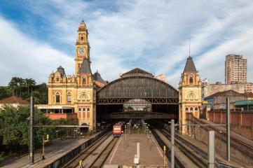 Brazil train station