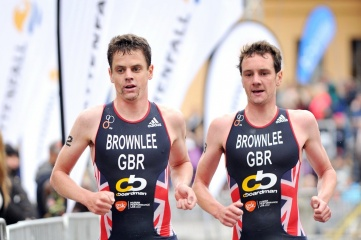 Leeds, the hometown of British Olympic medallists Jonathan and Alistair Brownlee, will now host the World Triathlon Series in 2016 (Photo: ITU)