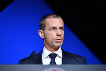 UEFA President Aleksander Čeferin chairs the UEFA Executive Committee meeting UEFA (Photo credit: UEFA)