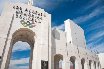 The Los Angeles Memorial Coliseum is being renovated in 2018 (Photo: Christian de Araujo / Shutterstock)