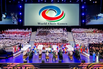 The World Choir Games opening ceremony (Photo: INTERKULTUR)
