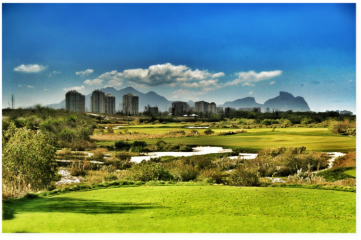 Artists impression of the Rio 2016 Golf Course (Photo: Hanse Golf Course Design)