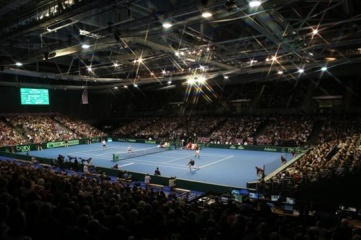 The Emirates Arena was built for the 2014 Commonwealth Games and hosts regular events