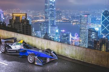 Formula E makes its debut in Hong Kong on October 9, 2016