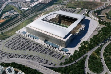 Itaquerão stadium  in Sao Paulo will host the opening match of the World Cup on 12 June