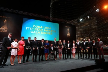 The 2014 ITTF Star Awards took place in Dubai