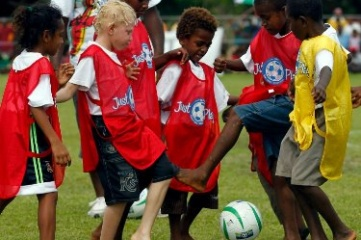 Just Play is an Oceania Football Confederation programme developed with UNICEF