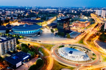 Katowice, in Polish Silesia, hosted the 2014 FIVB Mens' Championships and hosts the annual finals of Intel Extreme Masters, an Esports tournament