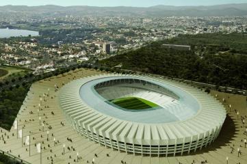 Mineirao Stadium in the FIFA World Cup city of Belo Horizonte