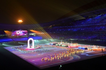 The closing ceremony of the 2014 Youth Olympic Games in Nanjing (Photo: IOC)