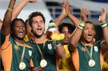 South Africa beat Argentina in the last ever Rugby Sevens match at a  World Games (Photo: IRB)