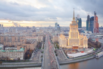 Moscow suffers from the longest traffic jams in the world