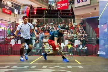 The CIMB Malaysian Open Squash Championship 2014 (Photo: CHEN WS / Shutterstock.com)