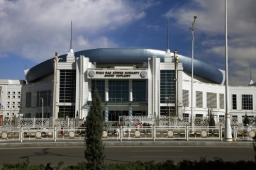 5 th Asian Indoor Games and martial arts, which will be held in Ashgabat (Turkmenistan) in 2017, from September 15 to 24 (Photo: Velirina / Shutterstock)