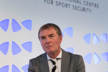 Helmut Spahn, Director General of the International Centre for Sport Security (ICSS), pictured at Securing Sport