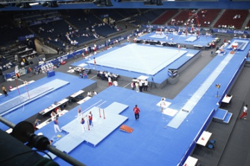 Stuttgart last hosted the World Artistic Gymnastics Championships in 2007