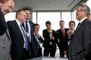 The IOC coordination commission met with the new Tokyo 2020 team