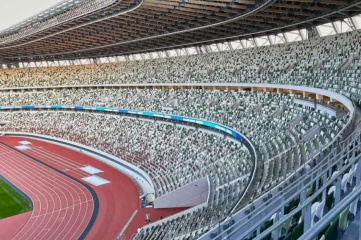 The Olympic Stadium, Tokyo will have no fans in the stands during the Games (Photo: IOC)