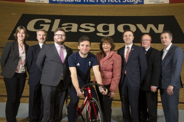The 2023 Cycling World Championships in Glasgow, Scotland will be the biggest ever cycling event (Photo: VisitScotland)