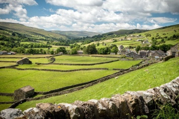 The UCI Road World Championships also take in the nearby Yorkshire Dales (Photo: Welcome to Yorkshire)
